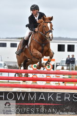 International Eventing rider, Robert Palm rode his, 'Koko Opapa' to take second place in the 2019 Racing Victoria Australian OTT Championships.