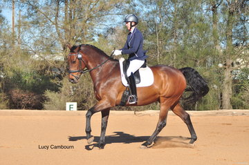 Georgina MacInnes and Charlie Brown were the first to compete on the day, kicking off with the Advanced 5A test.