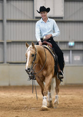 Fancy Two Step with Yvette Wealands in the Senior Horse Ranch Riding