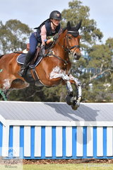 Madison Simpson from Queensland posted a clear cross country round today in the Horseland CCI3*-L and moved from 12th after the dressage phase to sixth going in to the final showjumping phase tomorrow.