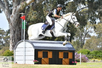 William Newton-Wordsworth from WA posted a good, clear Horseland CCI3*-L cross country run riding his Australian Stock Horse, 'Williams River Shadowfax'.