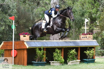 Sophie Fox and 'Mr Pig' posted a clear Horseland CCI3*-L cross country run today.