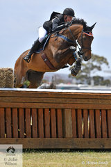 Bundy Philpott representing New Zealand jumped a good Mitsubishi CCI5*-L cross country round with just the addition of time penalties to hold sixth place going in to the final jumping phase tomorrow.