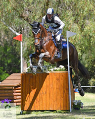 Matthew Gaske and 'Thymes Too' moved from sixth to second in the RM Williams CCI4*-S with just the addition of 2.8 cross country time penalties.