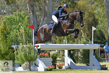 Jessica Rae from NSW and 'Rascal' jumped clear in the RM Williams CCI4*-S, but siipped from third to fifth with the addition of  with the addition of 9.2 time penalties.