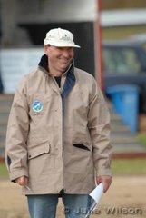 Naracoorte Horse Trials FEI Technical Delegate, Barry Roycroft.