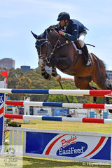 South Australian, Adam Metcalfe rode, 'MEC Aston' (by Anton) to post nine and an impressive second round clear to take sixth place in the Atco World Cup Qualifier.