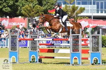 Hazel Shannon and 'Willinga Park Clifford' created Adelaide eventing history today. They won this competition in 2016, 2018 and this year again claimed the Mitsubishi CCI5*-L. There are only a handful of occasions in the world of eventing where the one rider has ridden the same horse to win  the same CCI5* competition three times and Hazel and Clifford are in elite company.