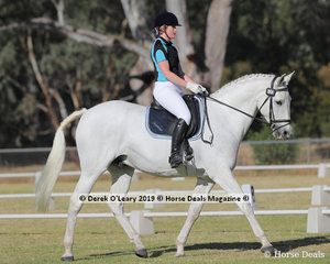 """Megan Hart rode """"Buckwell Park Chaos"""" in the Level 2B representing Seymour ARC"""