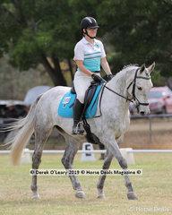 "Megan Seen rode ""Wombat Camicazi"" in the Level 3D representing Pakenham Upper ARC"