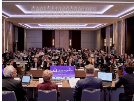The dedicated Endurance Rules session attracted a full house and generated constructive dialogue in Moscow (RUS) this afternoon during the FEI General Assembly 2019. (FEI/Liz Gregg)