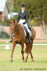 Jenny Bowker and 'Radish' (a popular name over the years) finished the Barastoc CIC** dressage phase in seventh place.