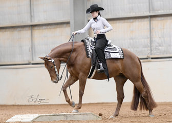 Charley Lalor on Triandibo Super Diva in the Youth Trail 14-18  years