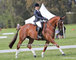 """Champion Rider 21 years & under 30 years, Rianna Percy and """"RVL Radiant"""""""