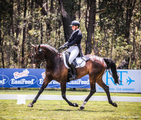 New Zealander Madison Crowe and Waitangi Pinterest in the Bucas CCI4*-L.
