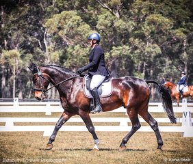 Sandi Frolich and Weemala Mighty Mo in the Gubbins Pulbrook Group CCN1*-L.