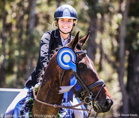The OTTO SPORT AUSTRALIA CCI3*-L also had a Young Rider class, and today the winner of this class was Hannah Klep and Reprieve.