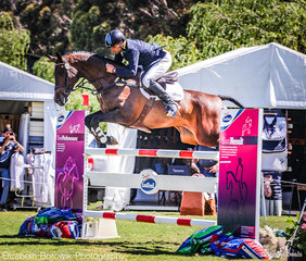 It was a close competition but Shane Rose and Easy Turn came away with the win. They were the only combination to stay on their dressage score to take out the BUCAS CCI4*-L class.