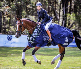 The WALLABY HILL  CCI4*-S was taken out by Rachael Lee and Lansina.