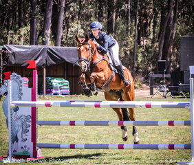 The best presented female from the Dapple Eq Trot Up was announced today as Willa Mitchell and Taurus - today they jumped in style in the PROUDLY SUPPORTING ASSISTANCE DOGS AUSTRALIA CCI2-L JNR class.