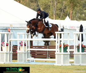 First class of the 2019 Sydney Summer Classic was the Open 1.40m, which saw a well known combination of Billy Raymont and Anton which only took 4 jumping penalties.