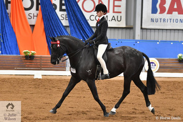 Riding for Victoria, Ebonie Lee claimed the Rider 15-17 Years Championship riding her , 'Zena PPH'. The Lee girls dominated the riding classes on the final day of the 2019 Ego Sunsense Australasian Show Horse and Rider Championships.