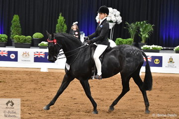 Isabella Bould riding for Victoria claimed third place in the Rider 15-17 Years Championship riding her, 'Exotic'.
