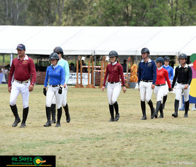 The final leg of the Australian Jumping Teams League saw all the teams gather to walk the Leopoldo Palacios designed track prior to a nail biting finish.