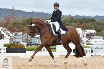 Juson James and LBA Dance placed seventh in the FEI Grand Prix CDN.