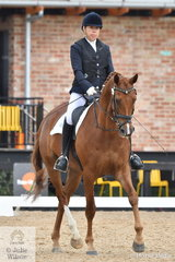 Representing New Zealand,Para Equestrian, Anne Watts rode , 'Joseph's Dream' to take fourth place in the Grade 4 Para Equestrian Championship.