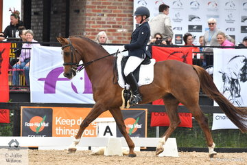 Claire Graham rode, 'Der Beste' to take third place in the Grade 4 Para Equestrian Championship on day three of the Serata Equine Victorian Dressage Festival.