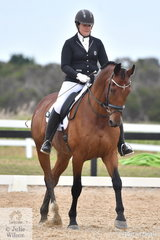 Malorie Ridett took fifth place in the Participation Novice 2A and third place in the 2B.