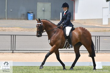 Emma Parlevliet is pictured abaord her First Season Hack Top Five, 'Matariki'.