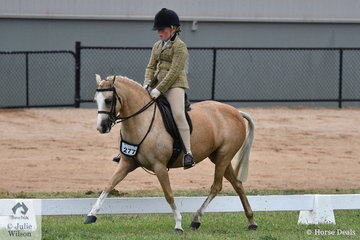 Gracie Humphries and her charming, 'Karlana Spring Chatter' made Top Five in the 2020 VAS Ltd Small Show Hunter Pony Championship.