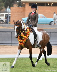 Jamie Macpherson rode her eye catching, 'Da Vinci' to claim the 2020 VAS Ltd Show Hunter Galloway Championship.