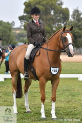 Rebecca Keane made Top Five Show Hunter Hack with her impressive, 'Dreamtime Lyrixx' at the International Animal Health 2020 VAS Ltd Show Horse Championships.