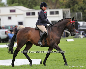 """Fiona McIntyre rode """"High Roller II"""" in the Ridden Newcomer Off The Track Hack"""