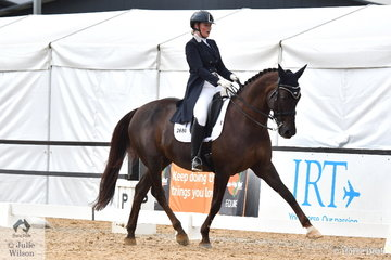 Brooke Mance riding Callum Park Freya placed fourth in the Prix St Georges.