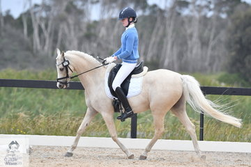 Caitlyn Porter rode Murraydale Park Anton to seventh place in the Toorak College Interschools Senior Novice 2B.