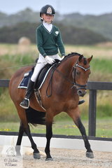 Lily Dean and Elysian Salute competed in the popular Toorak College Interschools Senior Novice class.