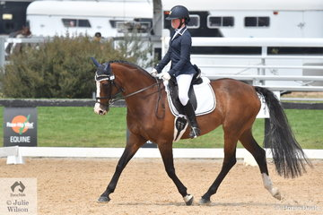 Keely Smith rode Cooparitz to second place in the Stable Ground Participation 1B Junior.