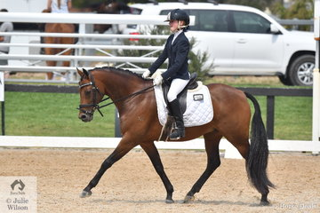 Shayleigh Joblin rode Maxwell Matador Royale to win the Stable Ground Participation 1B Junior.