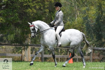 Daizi Plumb rode the very well performed, Part Welsh, 'Mirinda Alabaster' to take out the Australian Ridden  Part Welsh Qualifier Championship.