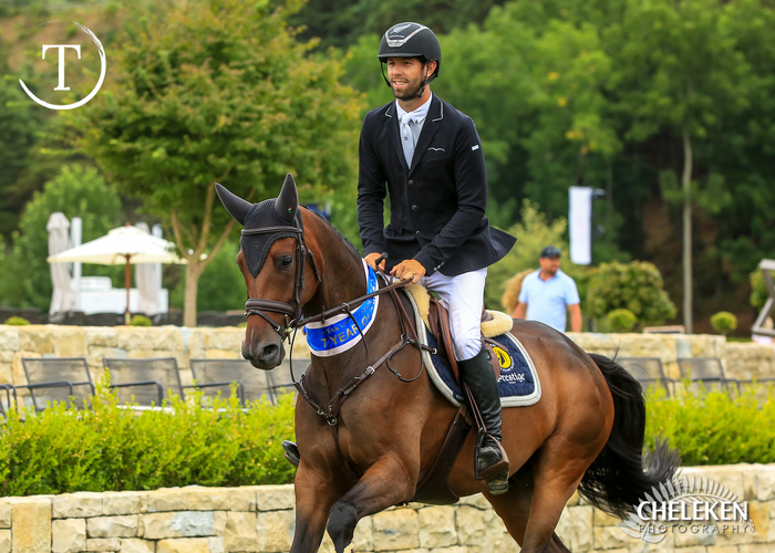 Clarke Johnstone, New Zealand's best-placed eventer at the Rio Olympic Games, will compete for the Harrison Lane team in the inaugural Takapoto Teams' Championship.<br> Photo credit Cheleken Photography