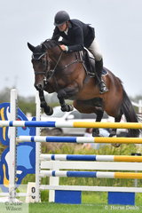 Nelson Smyth rode Unreachable in the Open 135cm Art 238.2.1.