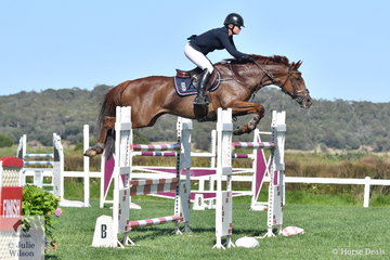 Frida Lindgren rode Catena to ninth place in the Leader Equine Future Stars.