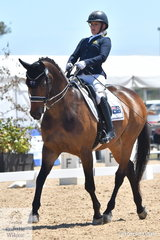 Emma Booth rode Mogelvangs Zidane  to win the Individual Test Grade 3 CPEDI. Emma also rode Aloha Kings Ransom to second place in this class.