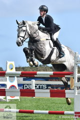 Conor Reed from South Australia, rode Leopoldo MVNZ to third place in the Pryde's Easifeed Young Rider Championship.