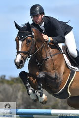 Tom McDermott rode Elegance De La Charmille to fourth place in the Browns Sawdust World Cup Qualifier.