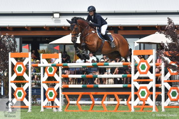 Amber Fuller from NSW rode CP Aretino to ninth place in the Browns Sawdust World Cup Qualifier.